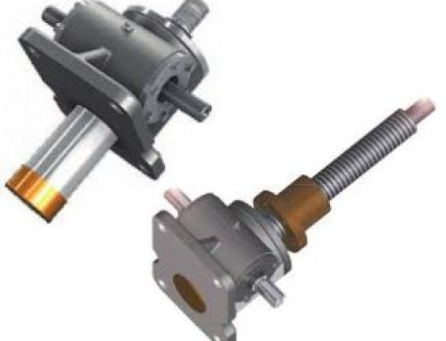 Industry leading screw jacks from Grob and Drive Lines