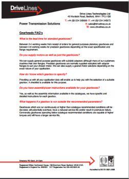 Gearhead FAQ