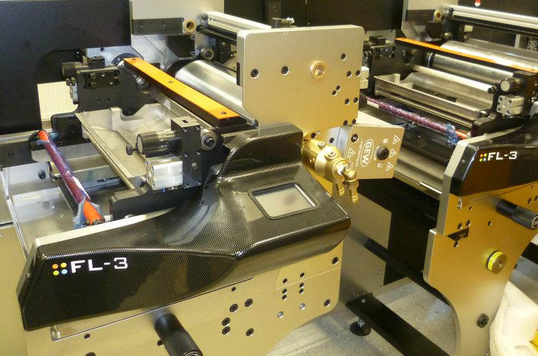 Linear components and couplings used in Edale print systems