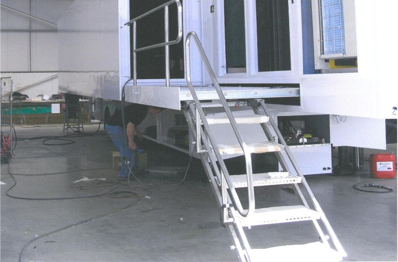 Step Pull Out Platform Spectra Specialist Engineering