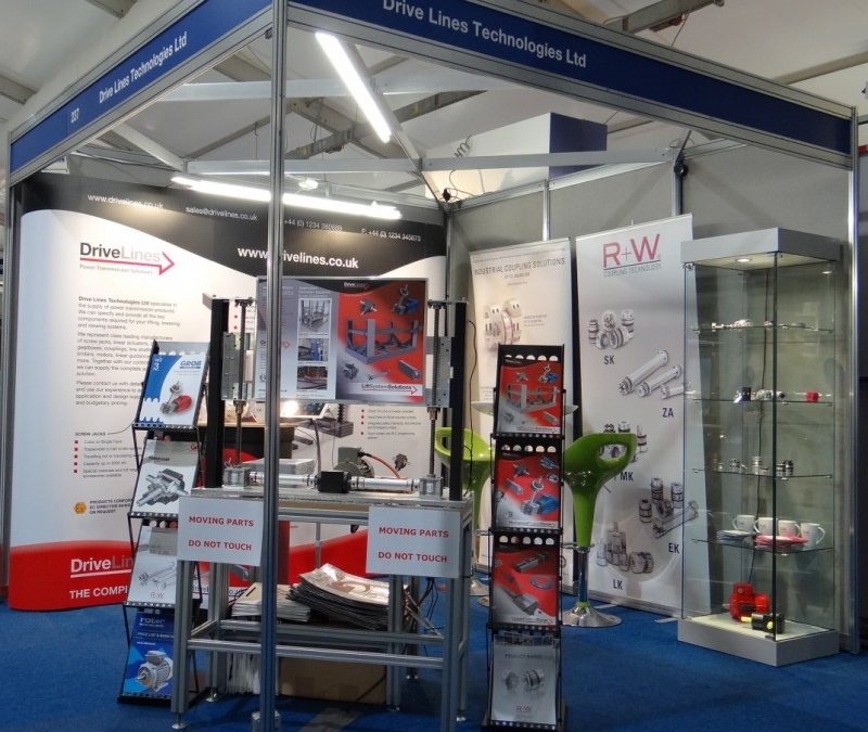 Drive Lines launches new website at Drives & Controls 2016