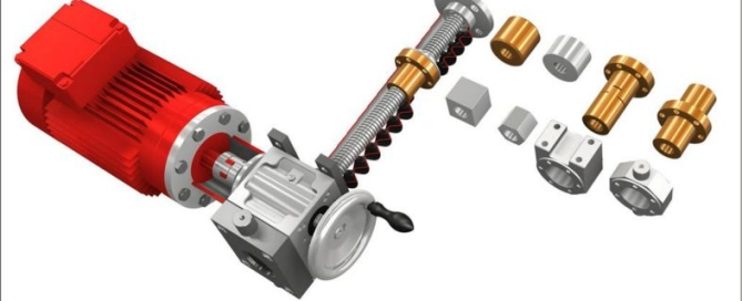 How to specifiy simple, reliable and adaptable screw jacks