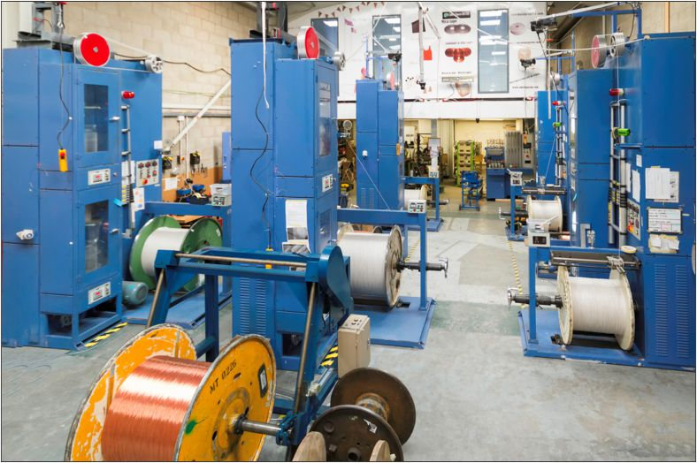 Brake upgrade boosts productivity and quality for Cable Tapes UK