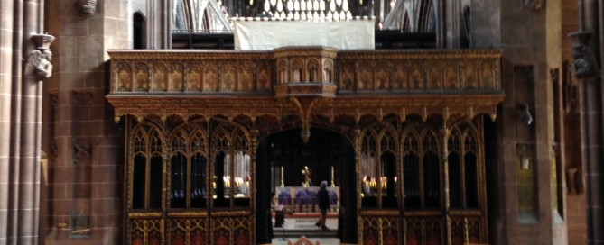 Lifting Dais Manchester Cathedral