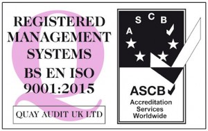 ISO 2015 accreditation button