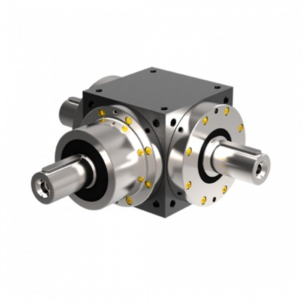 PowerGear bevel gearboxes with angular gear high effeciency and solid shaft ratio high torque