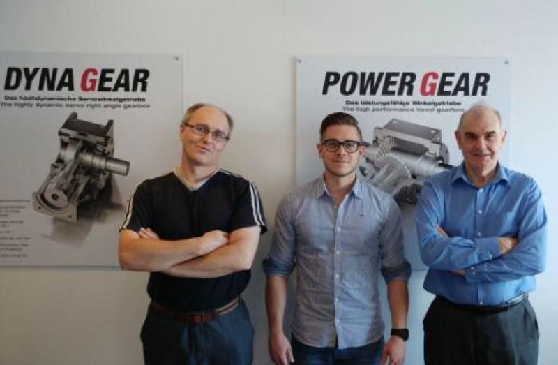 David and Peter at graessner representing the UK Drive Lines distribution team