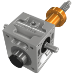 Screw Jack example CAD image