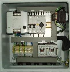 Control Panel inside