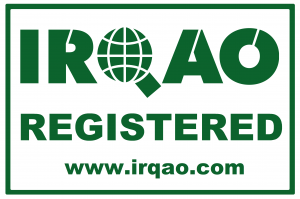 irqao registration logo badge