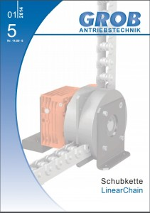 front cover of the Grob linear chain catalogue