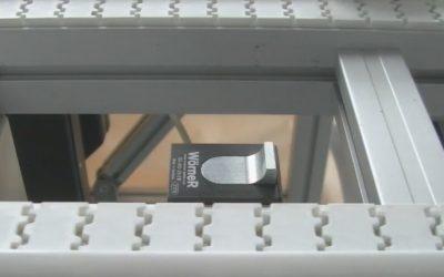 Undamped, pneumatic stopper D0-350 from Wörner