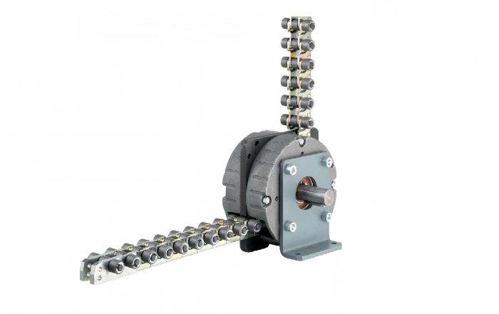 Grob's linear chain lift lower and push pull