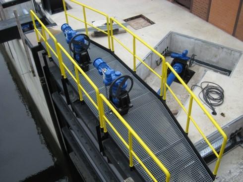 ADE Werk actuators in water management