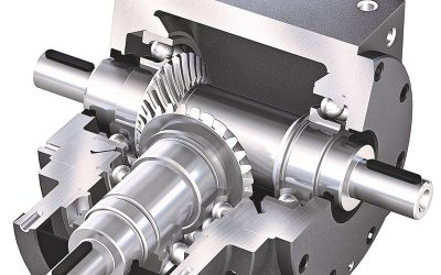 What is a bevel gearbox?
